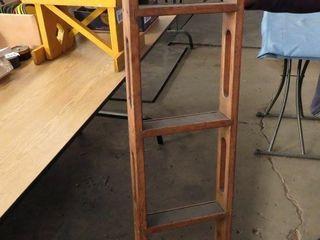 wooden bunk ladder