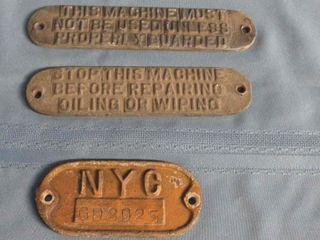 3 x train badges
