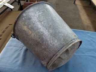 galvanized CN bucket