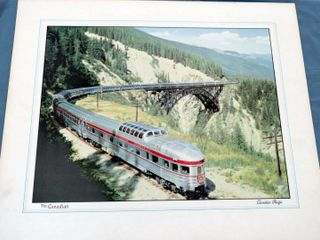 2 railway prints