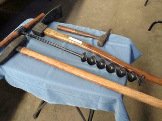 4 railroad hand tools