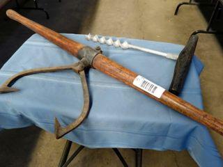 2 railroad hand tools