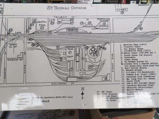 corplast sketch of St  Thomas rail grounds