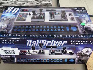 Rail Driver Desktop Cab Controller