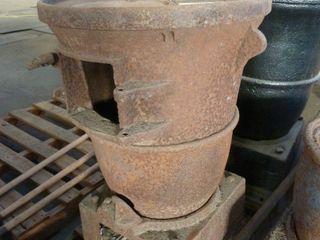 cast iron wood stove