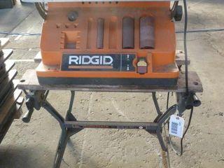 Rigid belt sander with stand