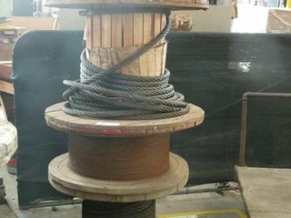 5 spools of wire