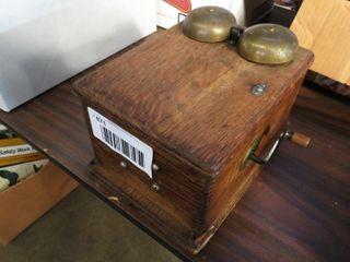 wooden ringer box