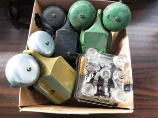 box of 3 bells   1 flasher
