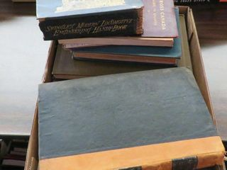 box of early railroad literature