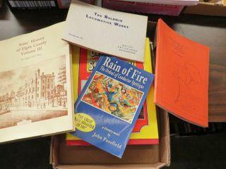 box of local literature