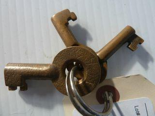 3 railroad keys