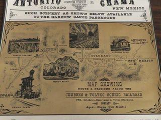 special notice railway print