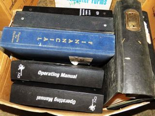 2 boxes of railway operating manuals