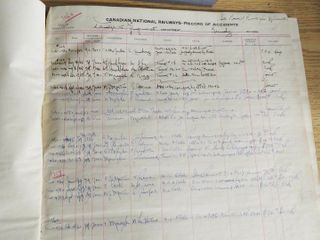 box of 3 early record books