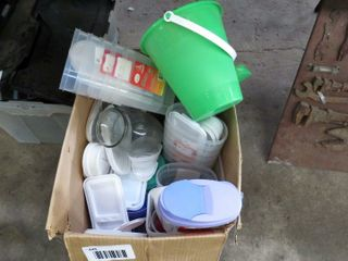 box of juice jugs