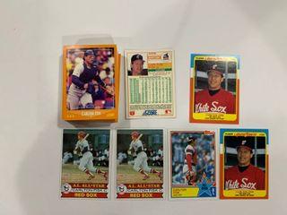 55 Card Carlton Fisk lot 1979 Topps  680  x2  1983 Topps  393  1988 Fleer Award Winners  12  x2  1988 Score  592  x50