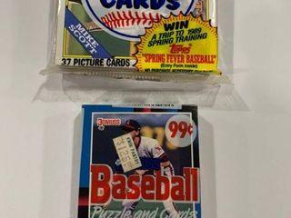 2 Sealed Jumbo Packs 1988 Donruss 1988 Topps