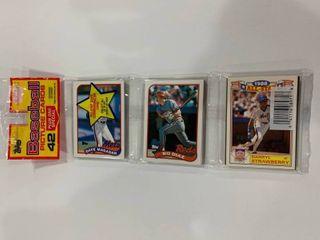 Sealed Rack Pack 1989 Topps