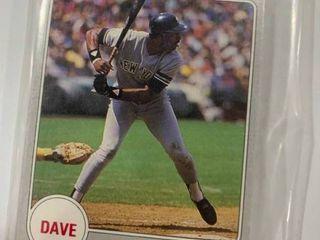12 Card Set 1988 Star Dave Winfield