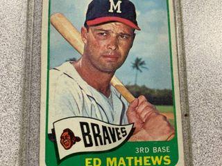 1965 Topps  500 Ed Matthews