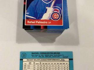 Investment lot of 100 1988 Donruss  324 Rafael Palmeiro Cards