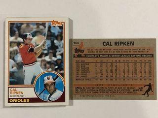 19 Card Investment lot 1983 Topps 163 Cal Ripken Jr