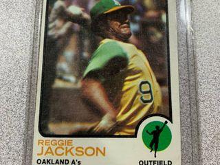 1973 Topps  255 Reggie Jackson
