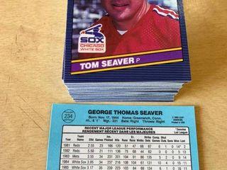 100 Card Investment lot 1986 leaf  234 Tom Seaver