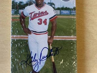 1986 Minnesota Twins Team Issued Postcard Set