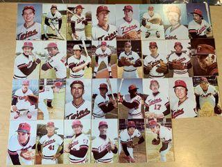 1978 Minnesota Twins Team Issued Postcard Set