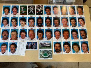 1984 Philadelphia Phillies Team Issued Photo Set  Tastykake