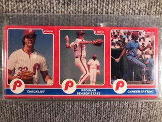 1984 Star 3 Panel 24 Card Full Set Steve Carlton  SEAlED
