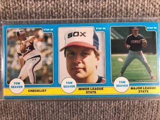 1986 Star 3 Panel 24 Card Full Set Tom Seaver  SEAlED