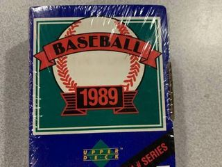 Sealed Factory Set 1989 Upper Deck High   Series