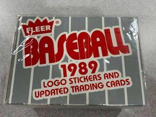Factory Set 1989 Fleer Update