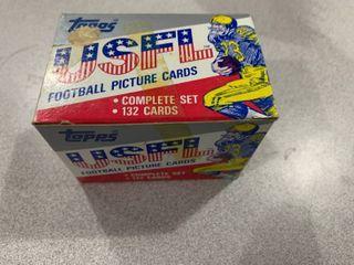 Factory Set 1985 Topps USFl Football Card Set Includes Major HOF Rookies  Herschel Walker  Jim Kelly  Steve Young  Reggie White  Doug Flutie