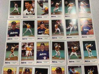 Oddball Team Promo Set 1986 Kool Aid Houston Astros Includes Nolan Ryan