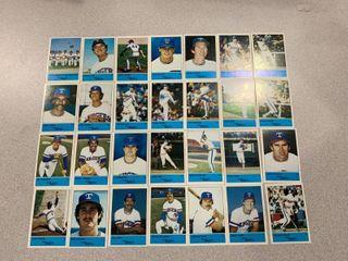 Oddball Team Promo Set 1983 Affiliated Foods Texas Rangers
