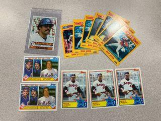 Reggie Jackson lot 1979 Topps  700  1983 Topps  390  x3   702  x2    1988 Score  x8