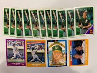 15 Card lot Mark McGwire
