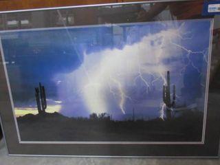 Thunderstorm Wall Art 38  W x 25 5  H