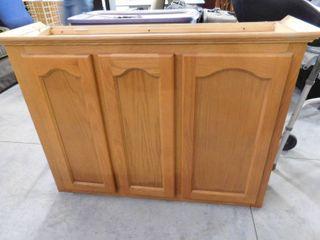 3 door Kitchen wall cabinet 31 3 4  H X 43  W X 13 1 2  D