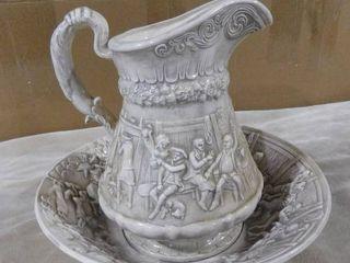 Beautiful pitcher   water bowl