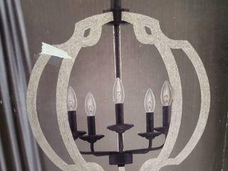 Quoizel Castleton Faux light Distressed Wood Pendant light