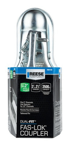 Reese Towpower Steel Dual Fit Coupler