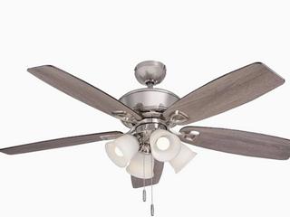 Harbor Breeze Notus Ceiling Fan w  lED Indoor light Kit