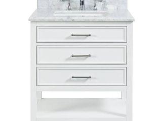Tile Top Uptown Bath Vanity w  Marble Vanity Top