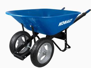 Kobalt Steel Professional Duty Wheelbarrow