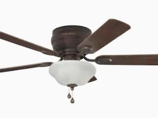 Harbor Breeze Mayfield lED Indoor Flush Mount Ceiling Fan